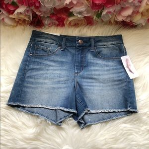 Jessica Simpson Uptown High Rise Jean Short